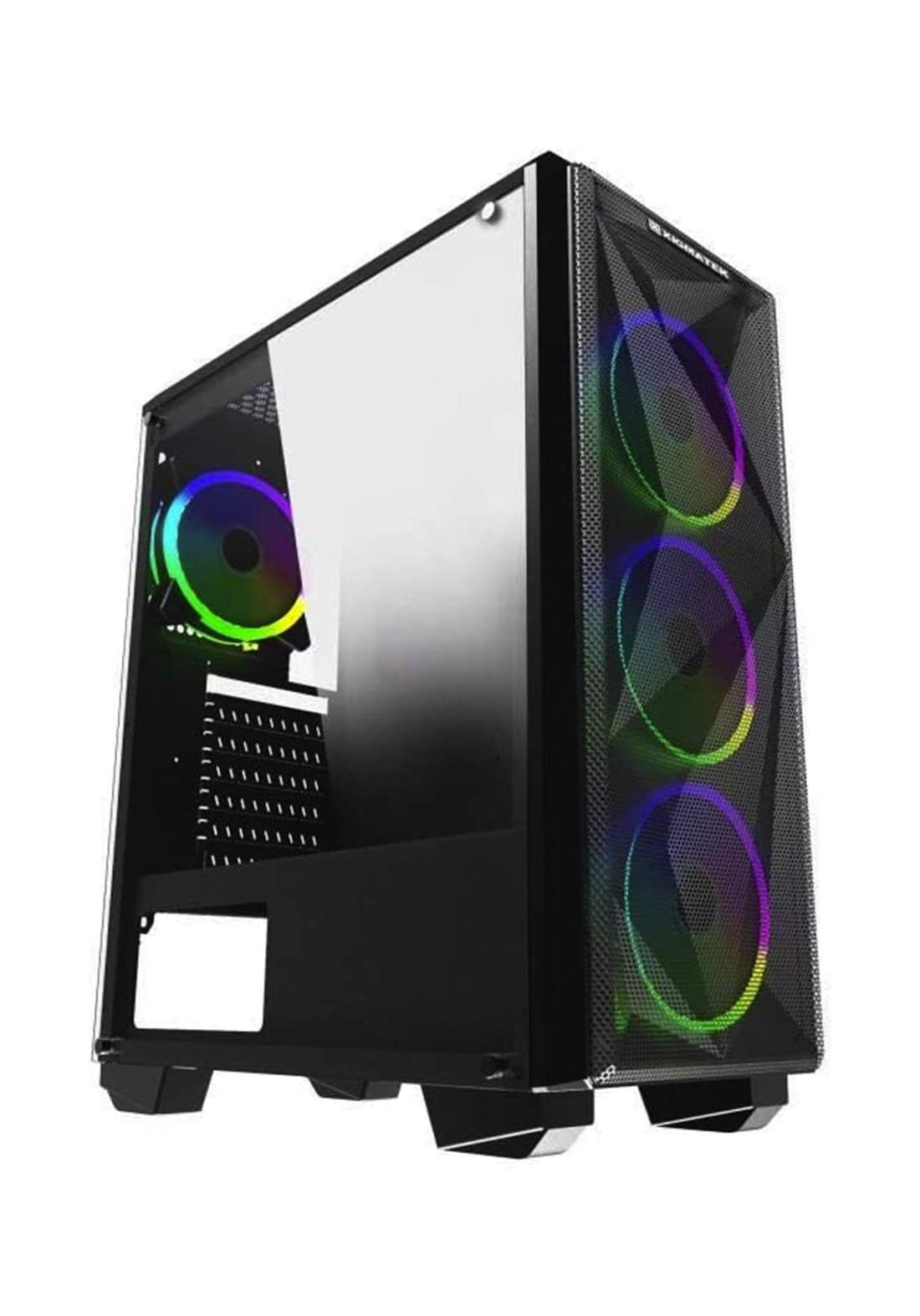 Xigmatek Beast Rgb Medium Tower Atx - Black كيس حاسبة
