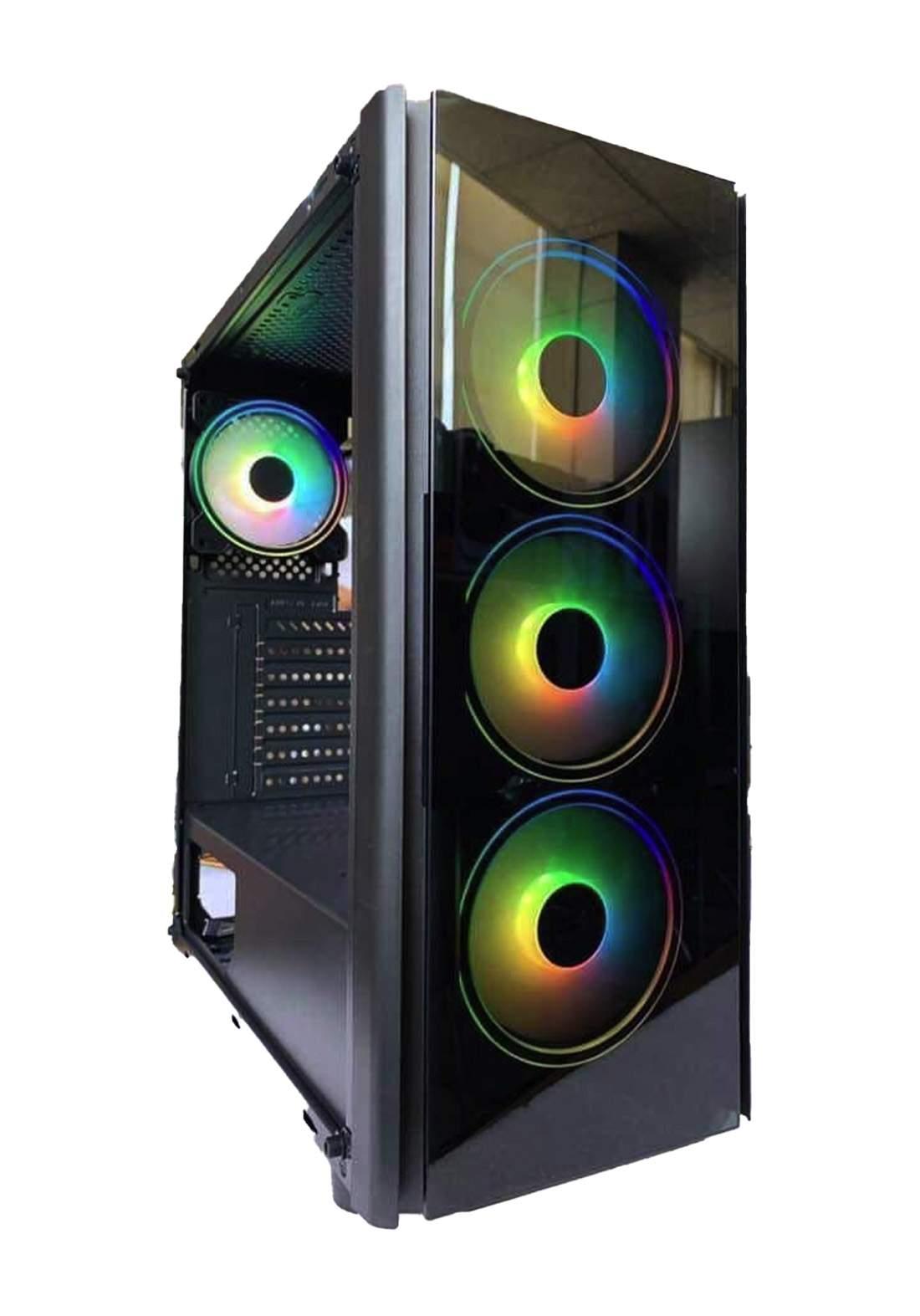 Custom 11  4Fans Cace - Black  كيس حاسبة