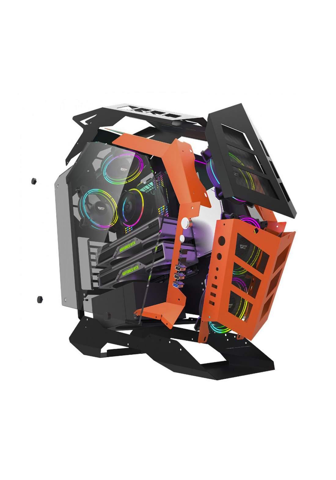 Aigo Darkflash Knight K1 Case 3 Fans -Black كيس حاسبة