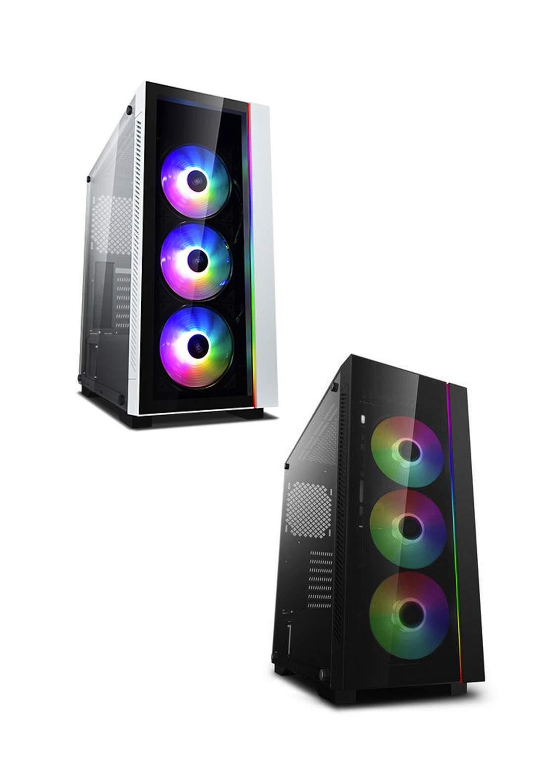 Deepcool Matrexx 55 V3 Rgb 3Fans Mid Tower Case كيس حاسبة