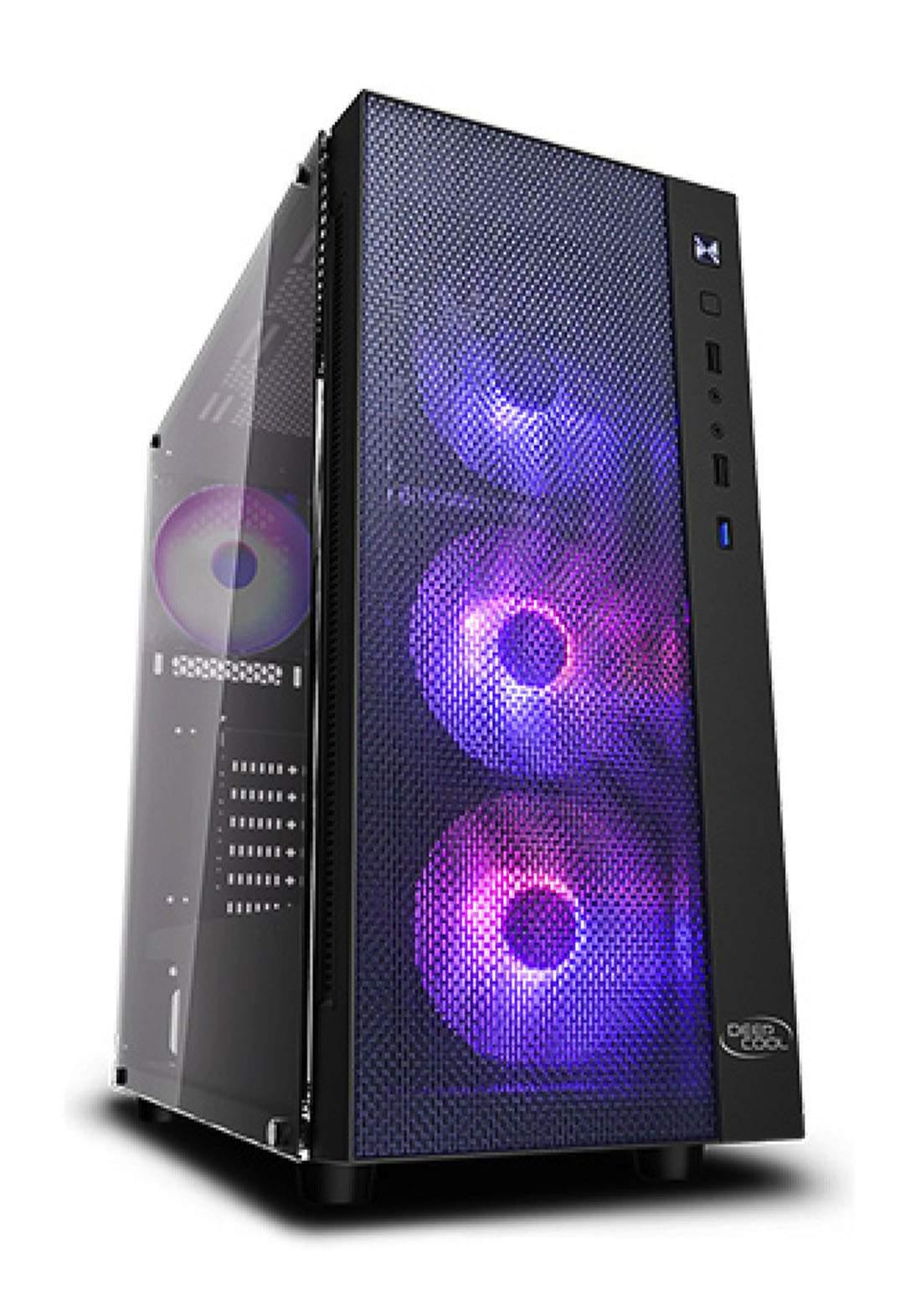 Deepcool Matrexx 55 Mesh Rgb  Mid Tower Gaming Case - Black  كيس حاسبة