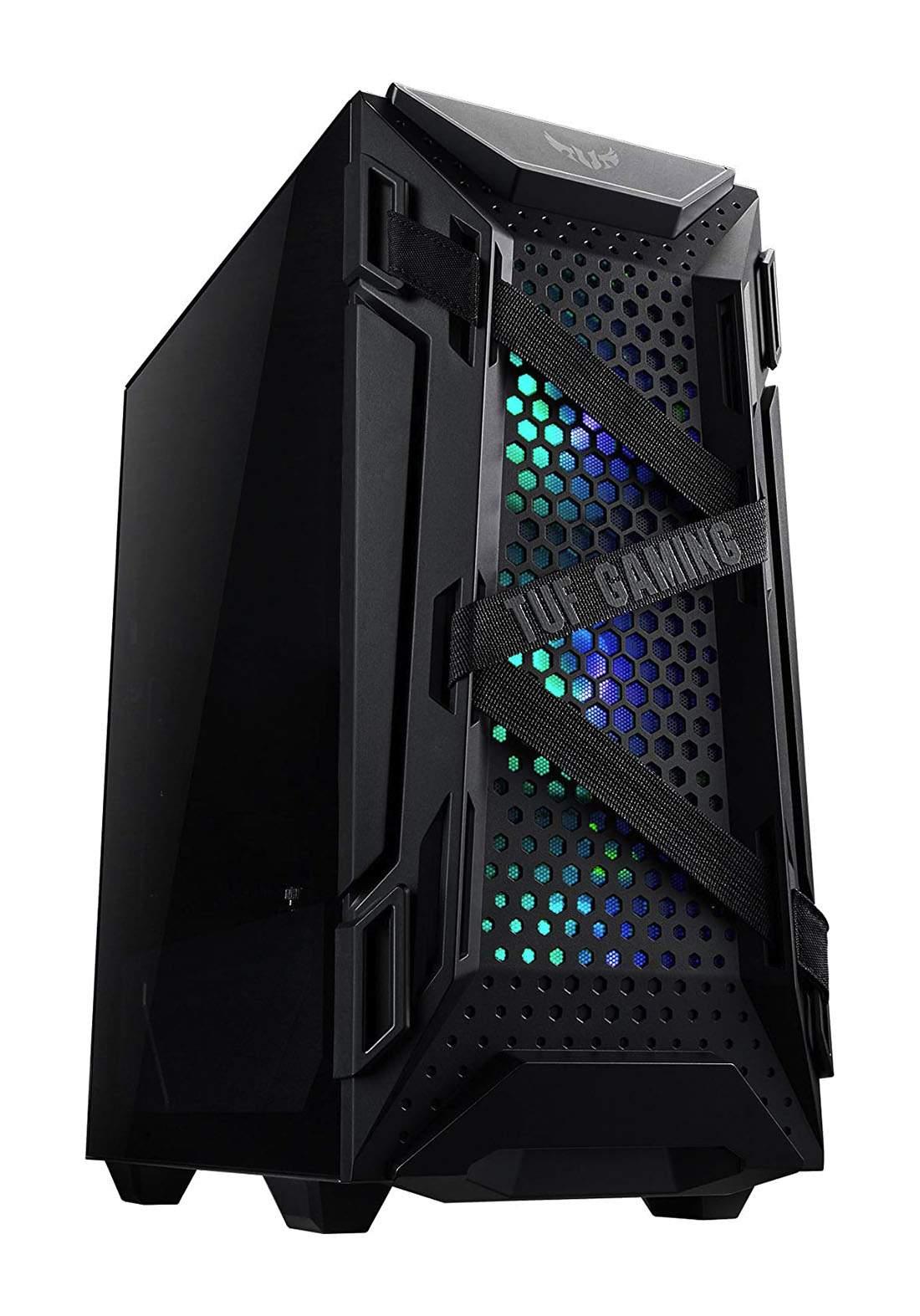 Asus Tuf Gaming GT301 Rgb Tempered Glass - Black  كيس حاسبة