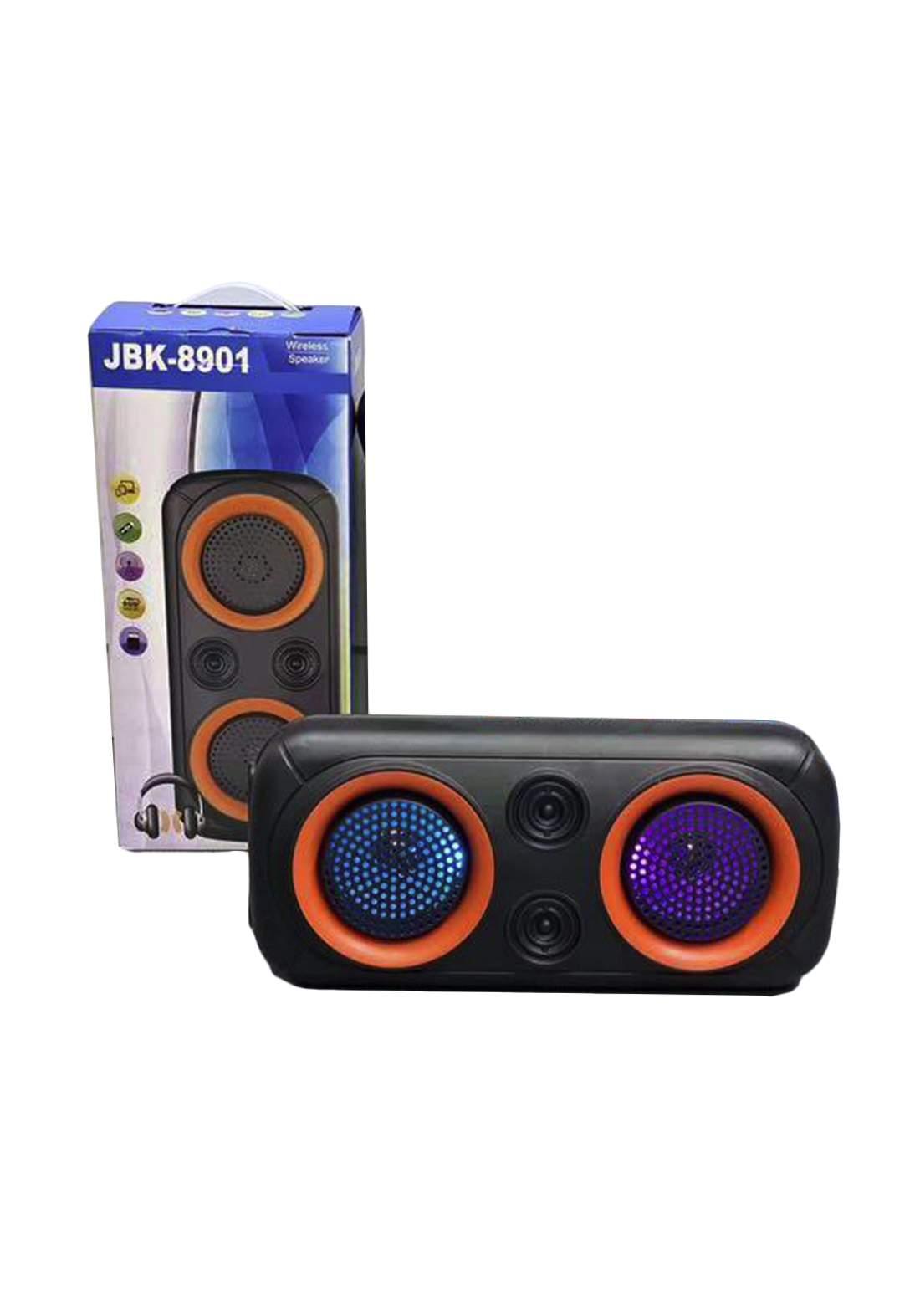 Jbk 8901 Wireless Speaker-Black مكبر صوت
