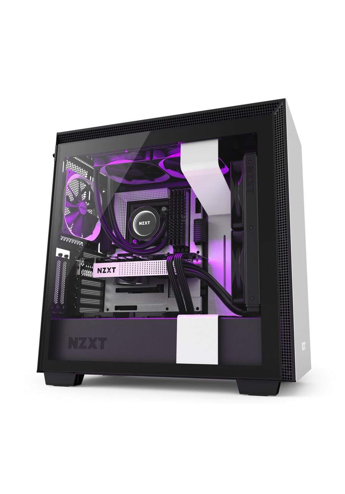 Nzxt H710i Atx Mid Tower Case كيس حاسبة