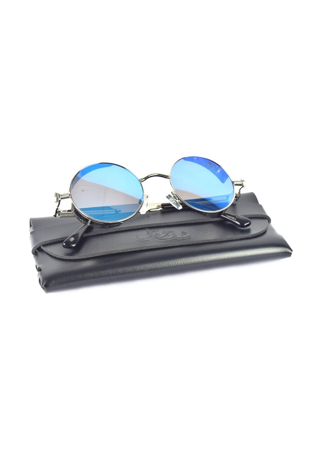 UV400 نظارات شمسية من شقاوجي مع حافظة جلد