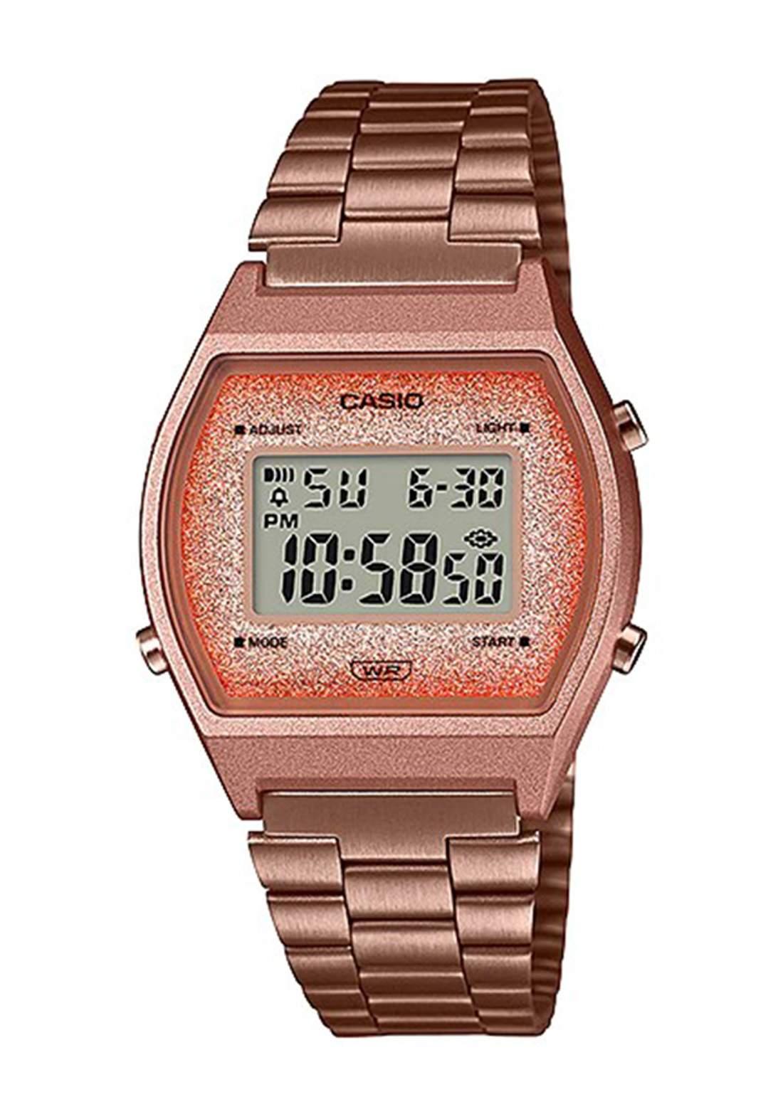 Casio B640WCG-5DF Women's Watch (ROSE GOLD) ساعة نسائية