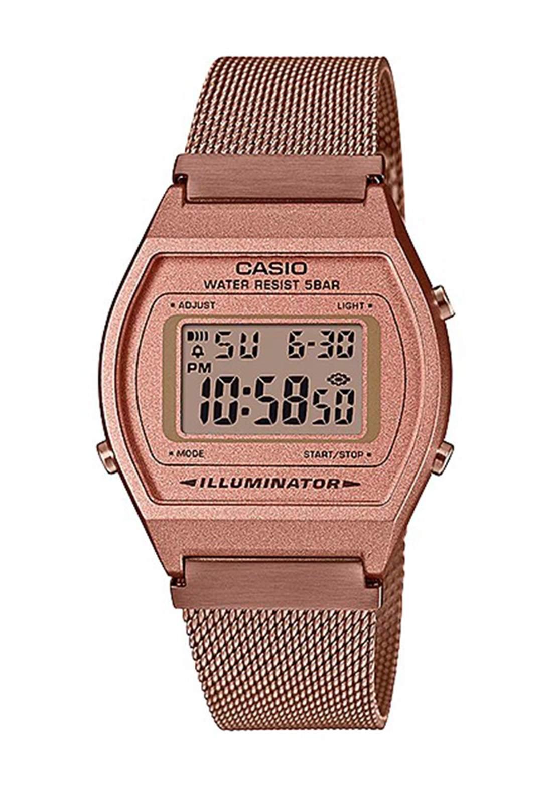 Casio B640WMR-5ADF Women's Watch (ROSE GOLD) ساعة نسائية