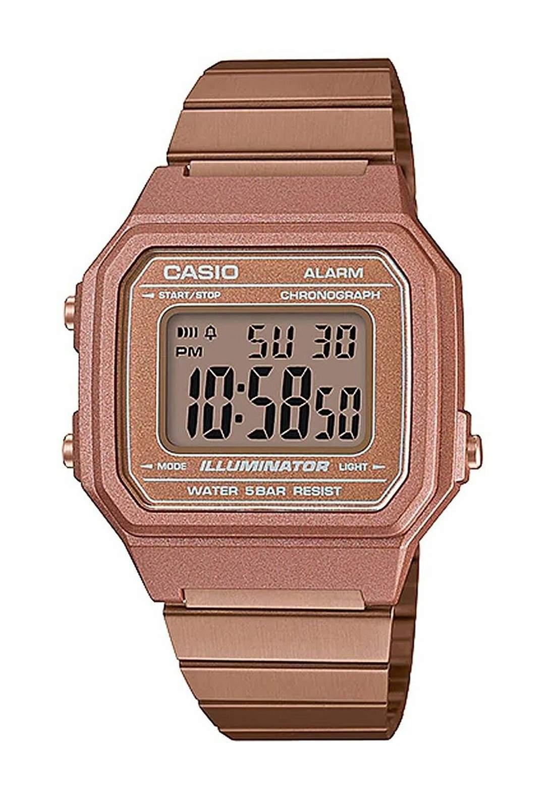 Casio B650WC-5ADF Women's Watch (ROSE GOLD) ساعة نسائية