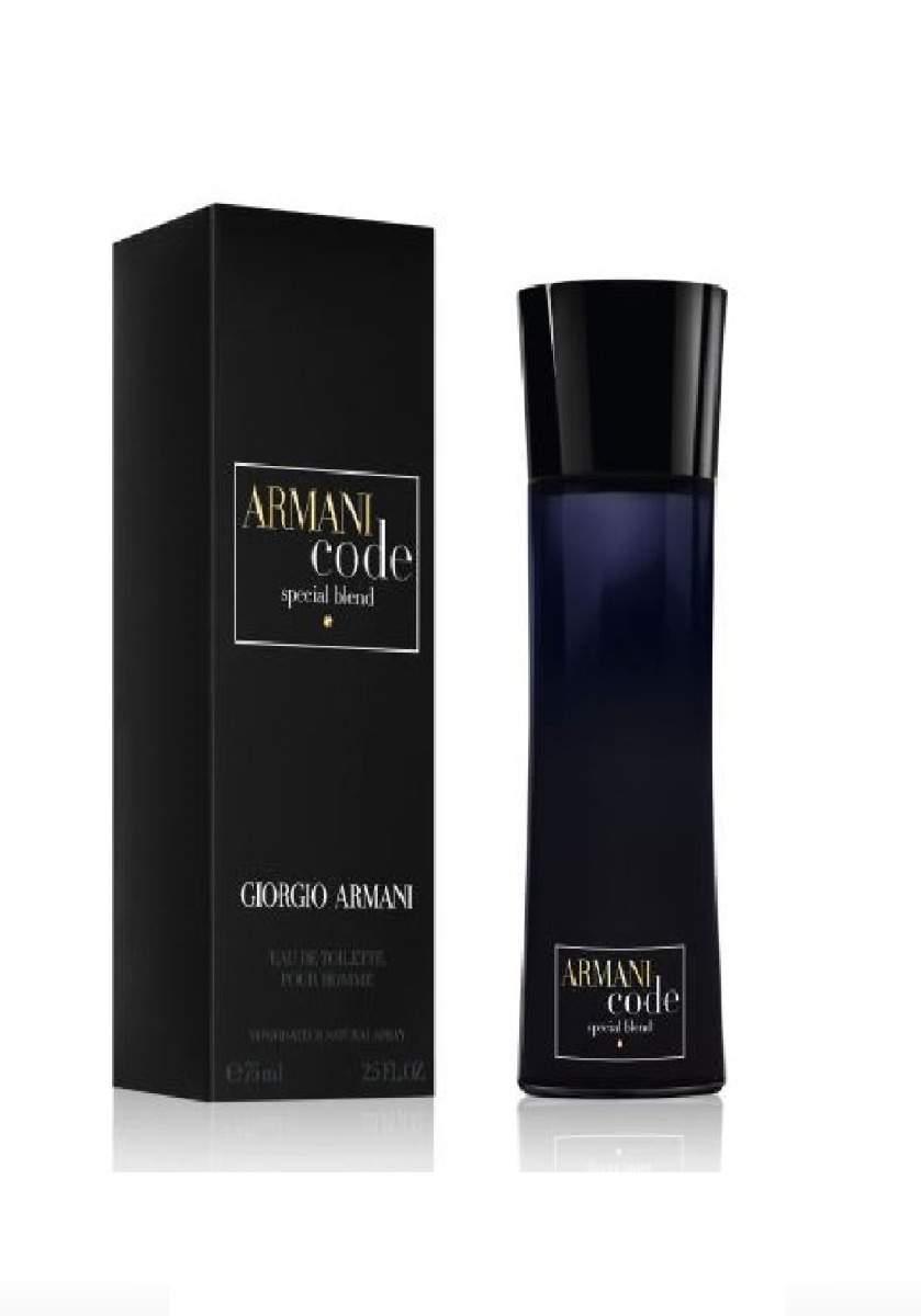 Giorgio Armani Code Man Special Blend One Shot Eau De Toilette For Men 75 ml عطر رجالي