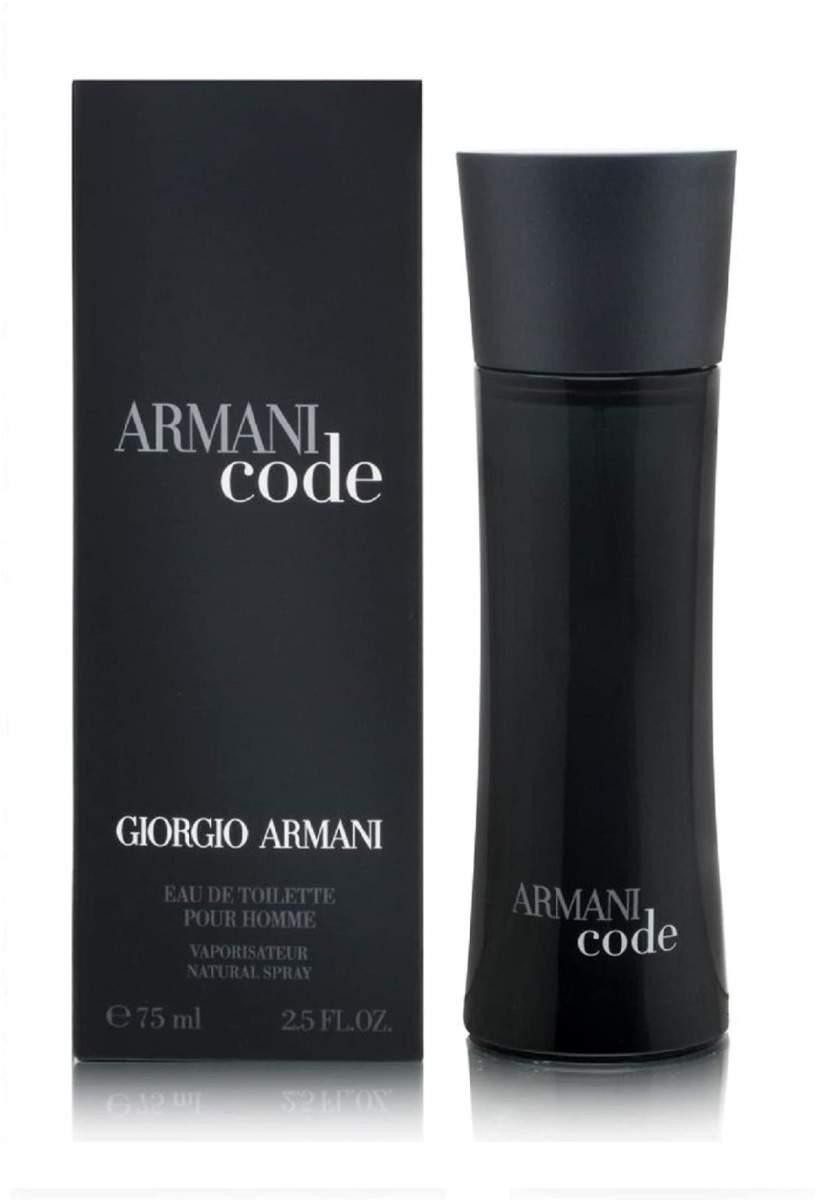 Giorgio Armani Code Eau de Toilette For Men 75 ml عطر رجالي