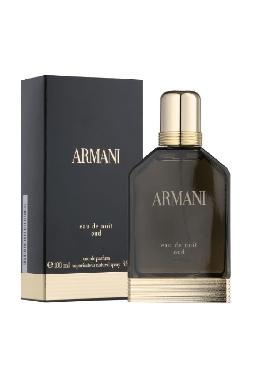 Giorgio Armani EAU De Nuit Oud Eau De Parfum For Men 100 ml عطر رجالي