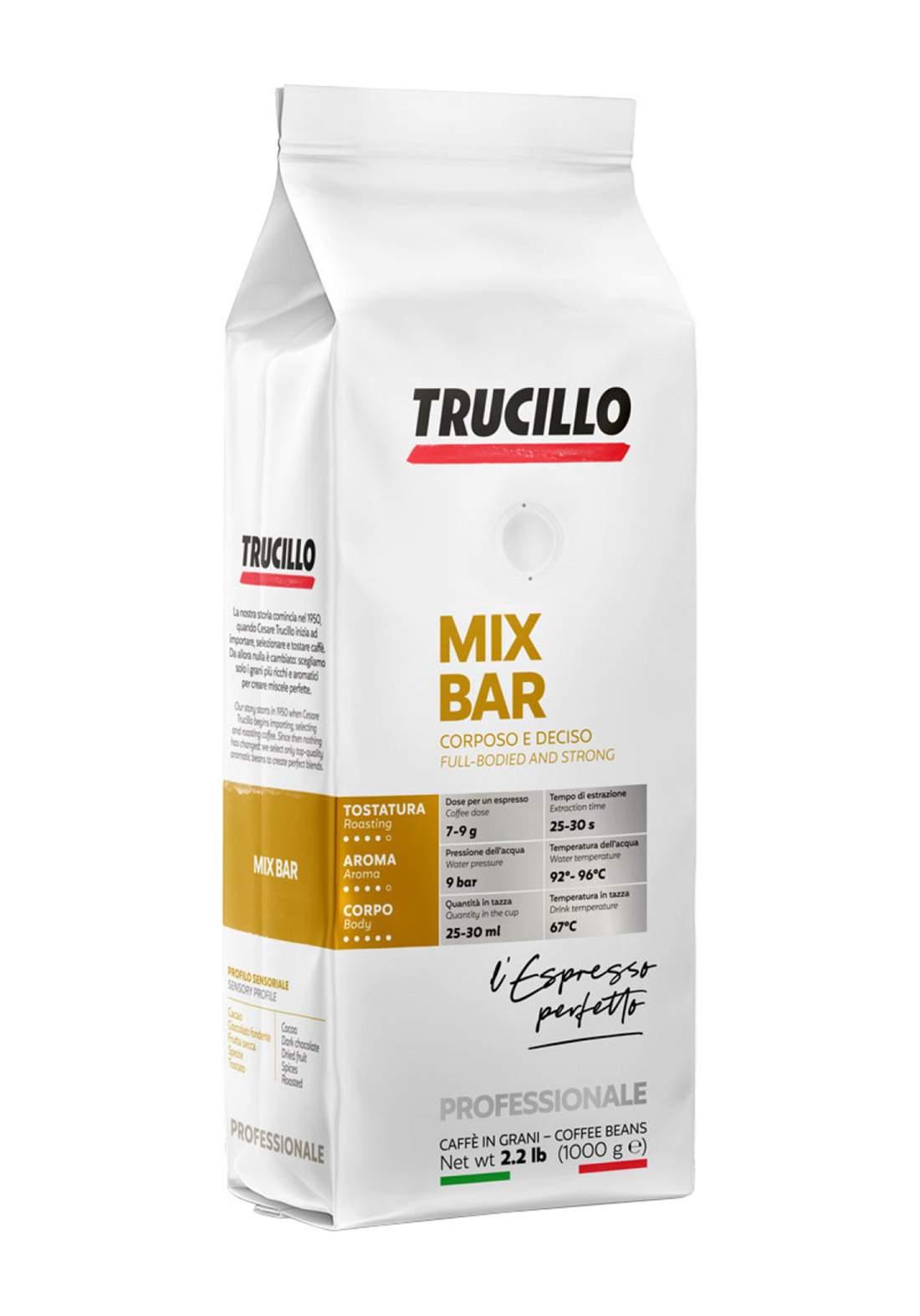 Trucillo Premium Mix Bar 1Kg قهوة