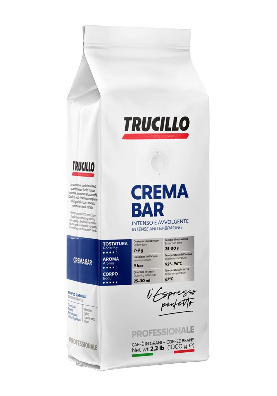 Trucillo Premium Crema Bar 1Kg قهوة