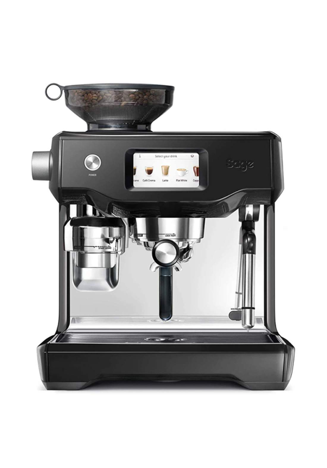 Sage SES880BSS4EEU1 Coffee Machine 2400 Watt ماكنة صنع قهوة