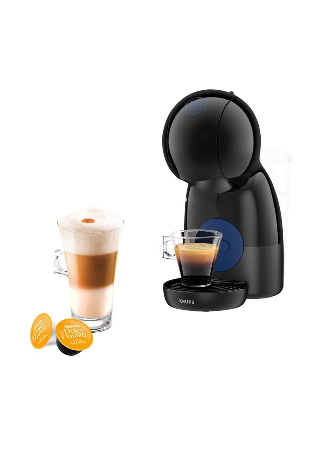Piccolo KP1A3B Coffe Machine 1600 Watt ماكنة صنع القهوة