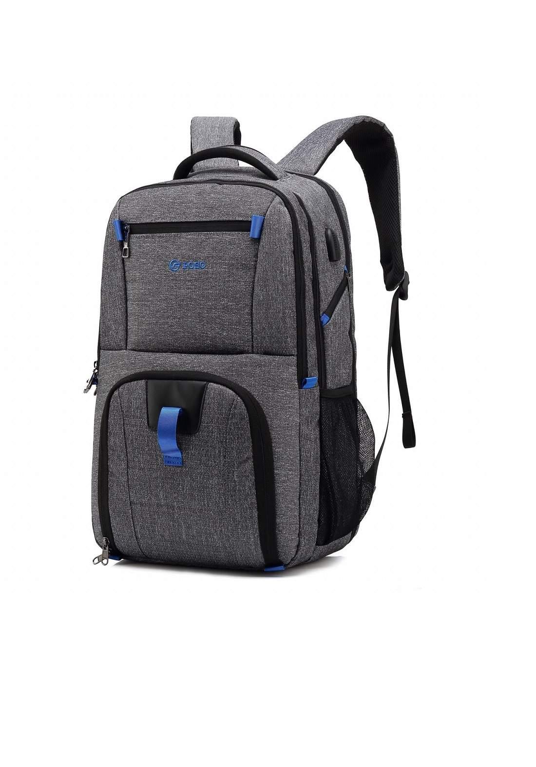 Poso PS-501 Laptop Bag-Grey حقيبة لابتوب