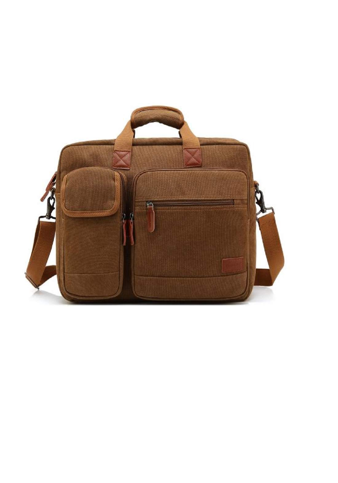 CollBell CB-5002 Laptop Bag-Brown حقيبة لابتوب