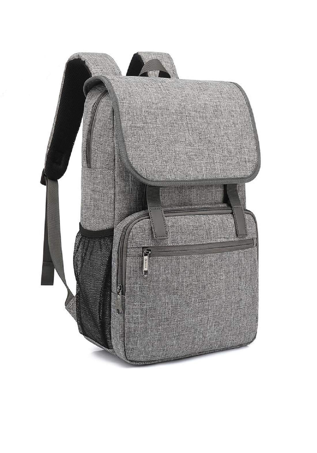 Poso PS-658 Laptop Bag-Grey حقيبة لابتوب