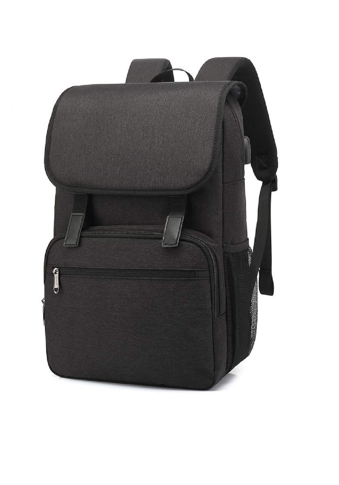 Poso PS-658 Backpack 15 Inch Bag with USB Port حقيبة لابتوب
