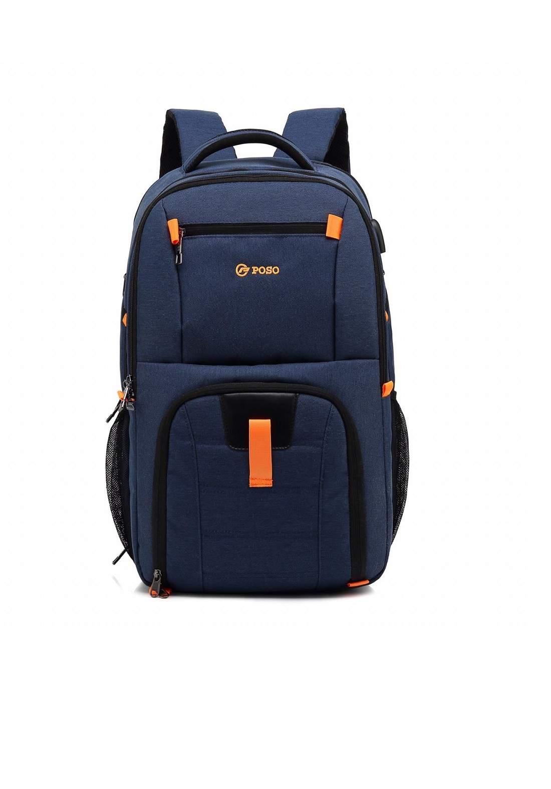 Poso PS-501 Laptop Bag-Blue حقيبة لابتوب