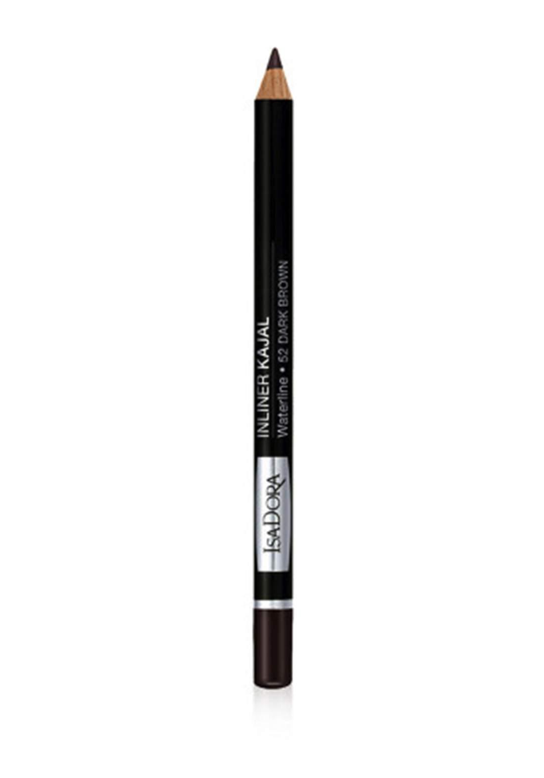 314229 Isadora Inliner Kajal Waterline No.52 Dark Brown محدد العيون
