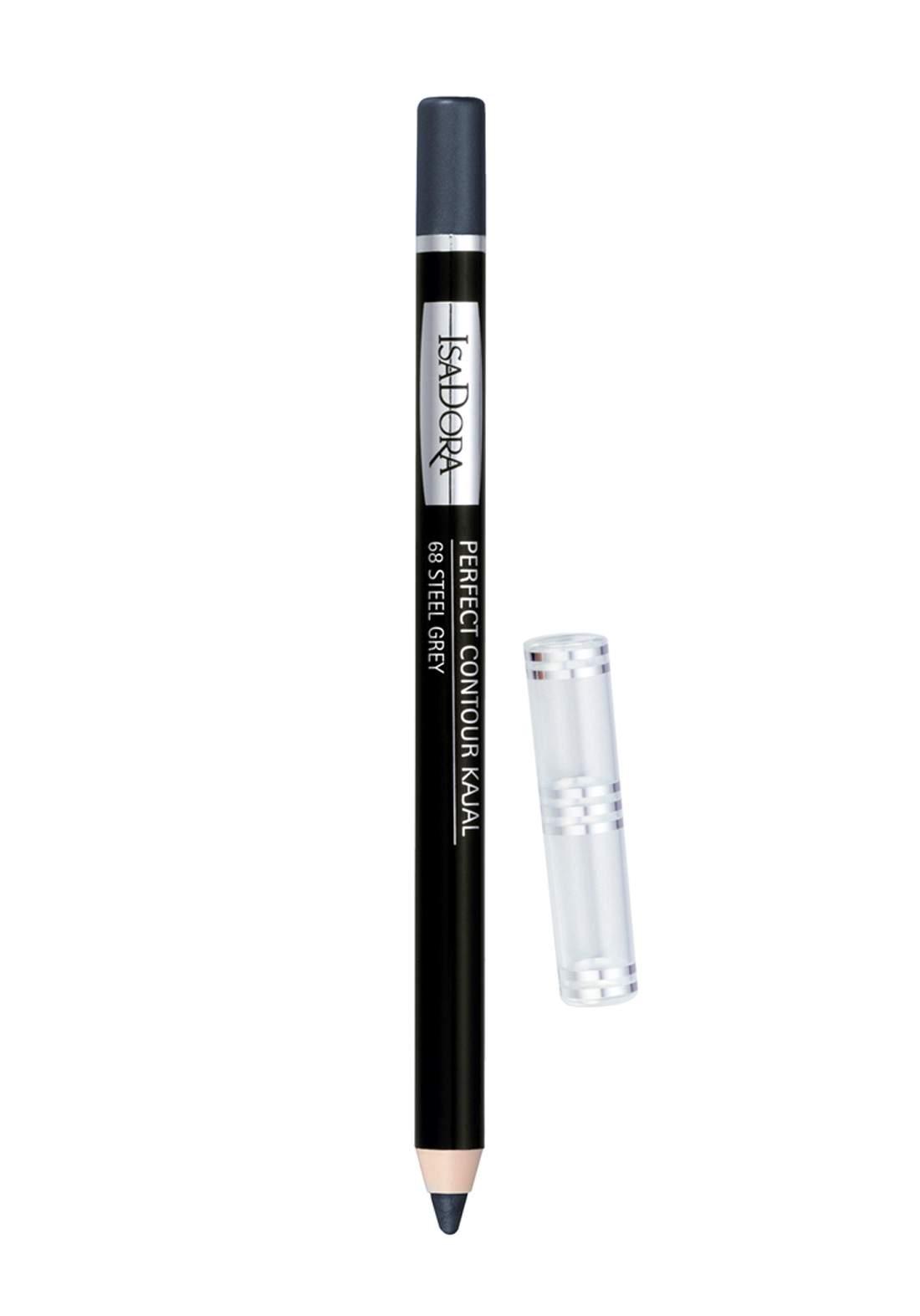 314236 Isadora Perfect Contour Kajal  - Steel Grey No.68 قلم تحديد العين