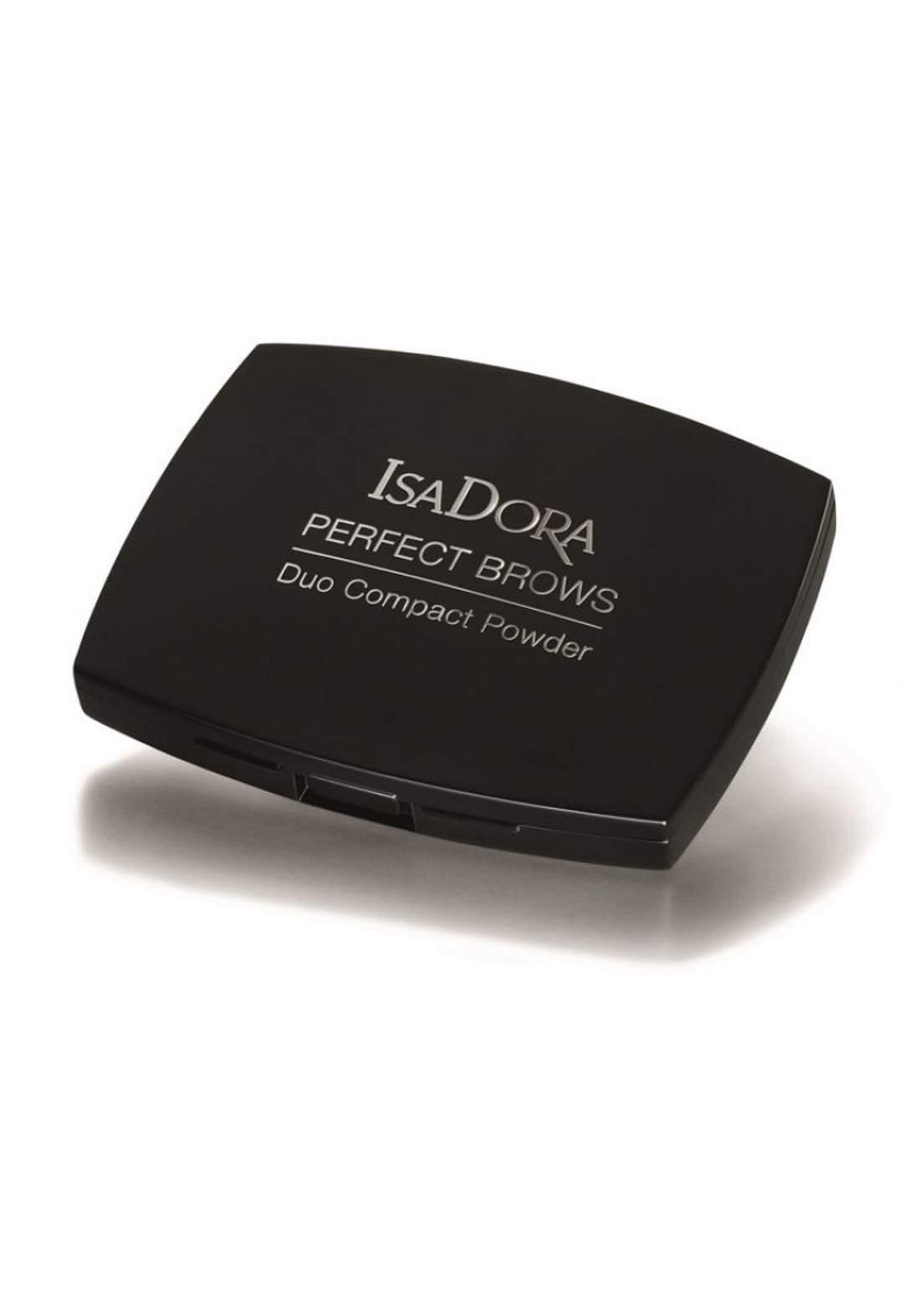 314189 Isadora Perfect Brows Duo Compact Powder - Brown Duo بودرة حواجب