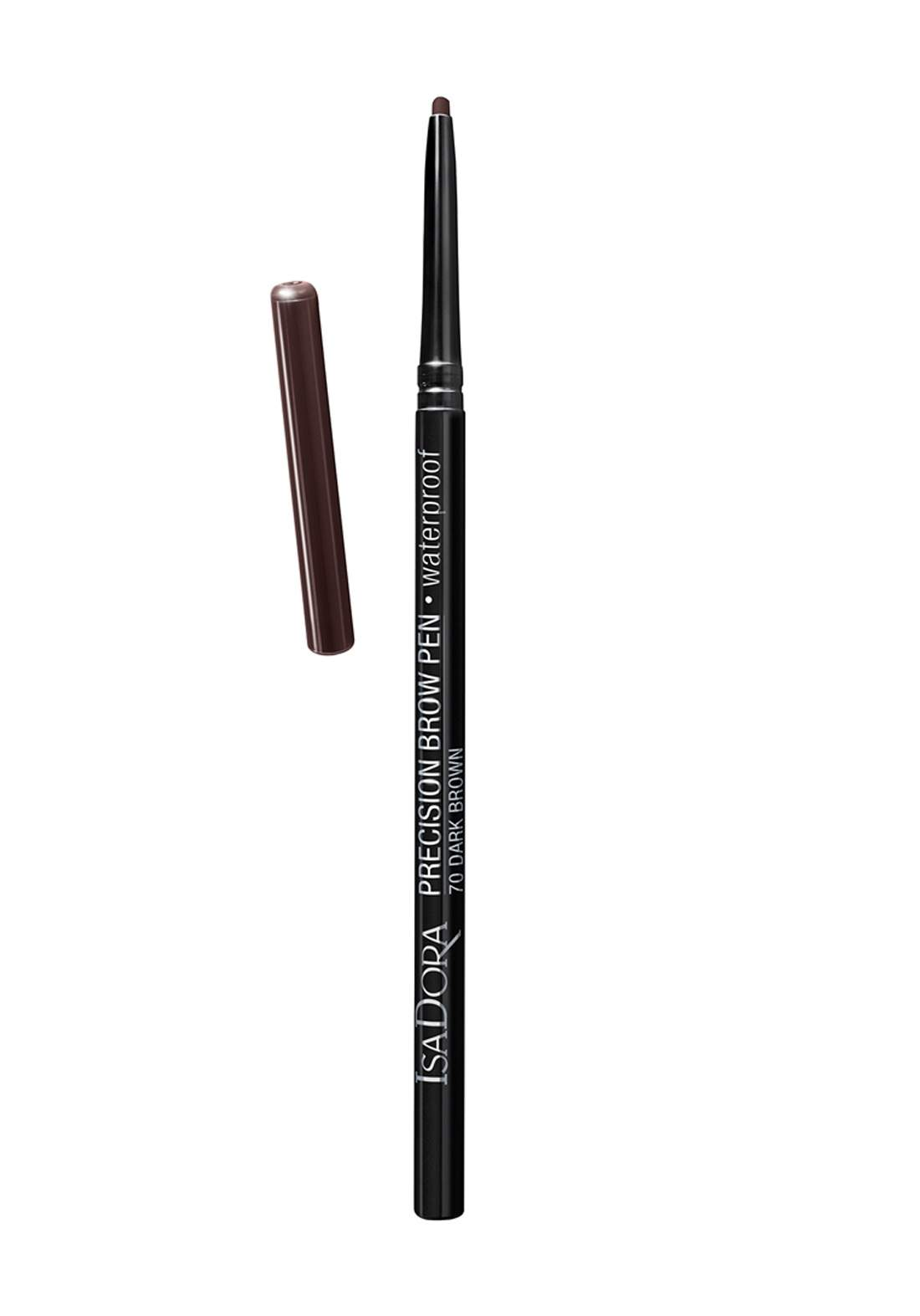 314201 Isadora Precision Brow Pen Wateproof - Dark Brown قلم حاجب