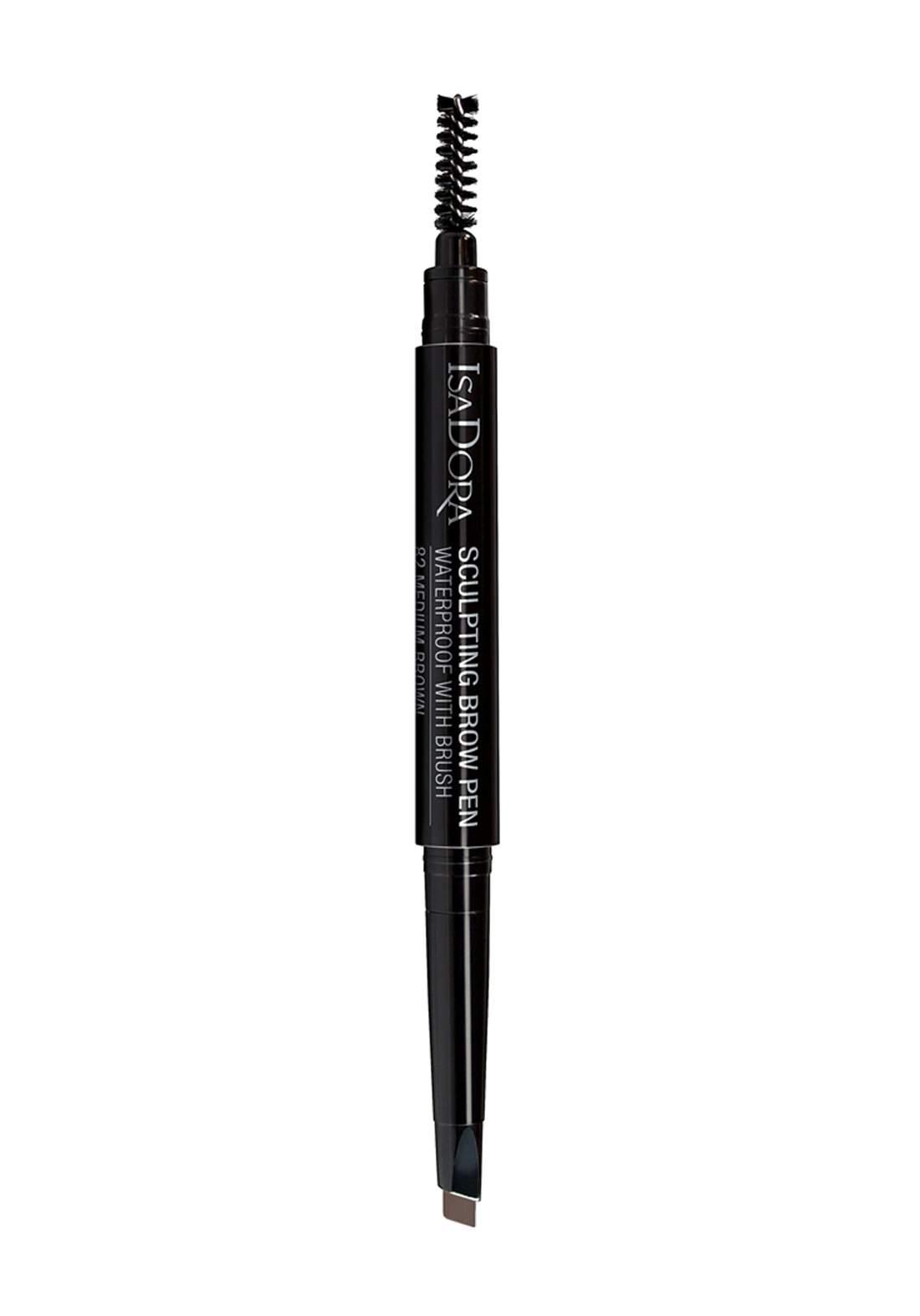 314205 Isadora Sculpting Brow Pen Waterproof-Medium Brown No.82  قلم تحديد الحواجب بالفرشاة