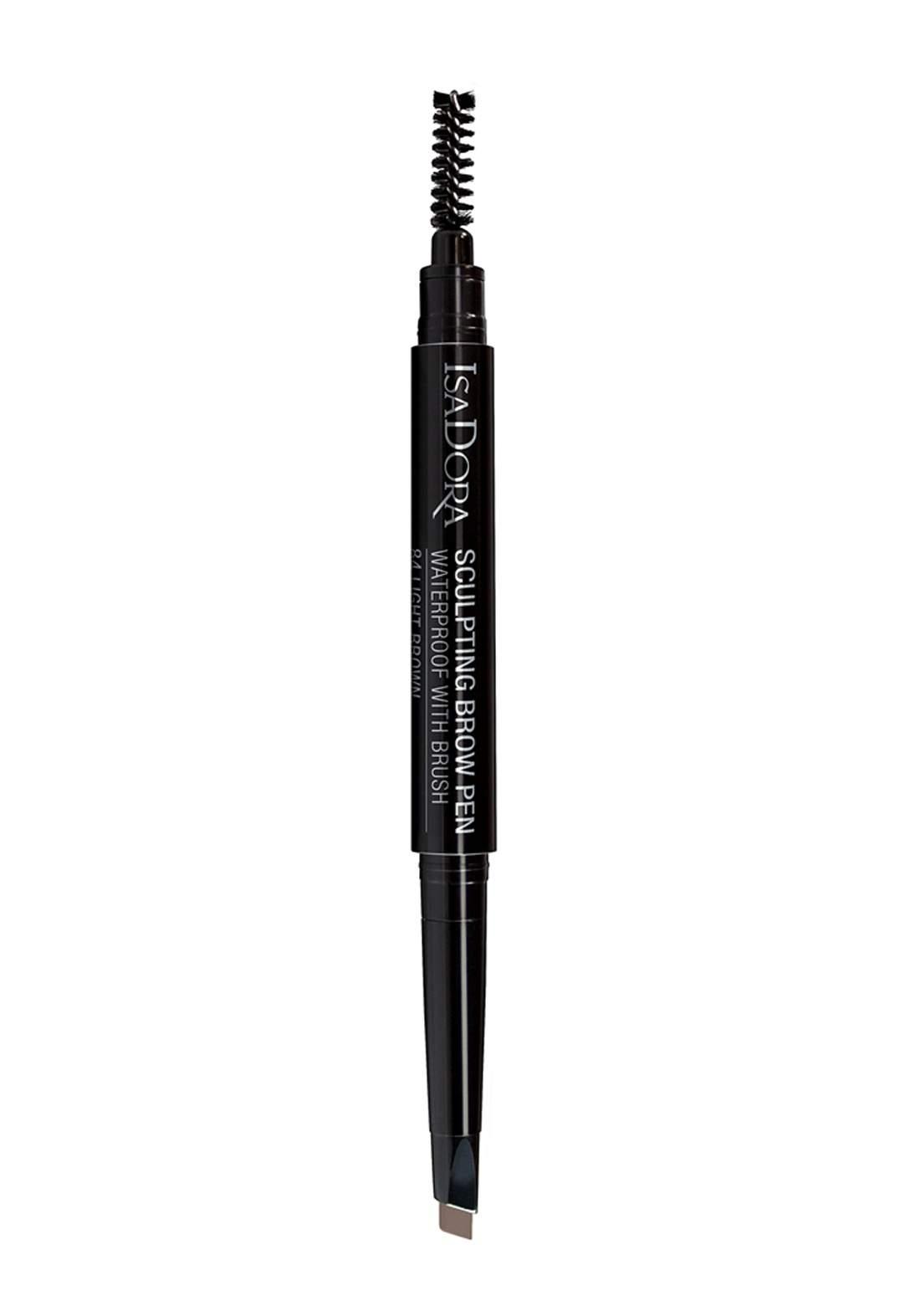 314206 Isadora Sculpting Brow Pen Waterproof - Light Brown No.84  قلم تحديد الحواجب بالفرشاة