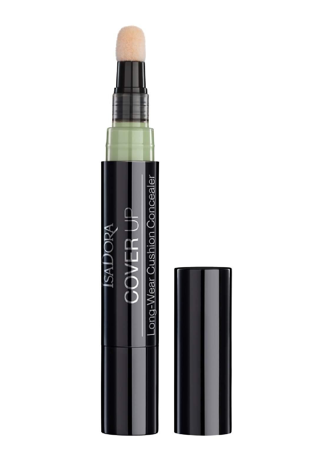 IsaDora 314284 Cover Up Long-Wear Cushion Concealer - Green   خافي عيوب