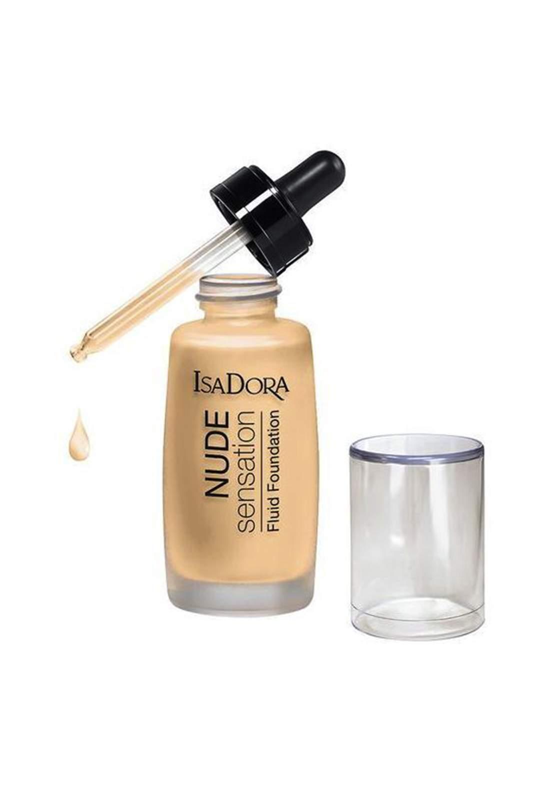 IsaDora 314292 Nude Super Fluid Foundation - Nude Blonde 30 ML كريم اساس