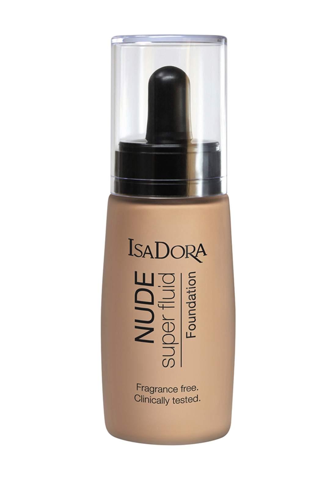 IsaDora 314295 Nude Super Fluid Foundation - Nude Beige 30 ML كريم اساس