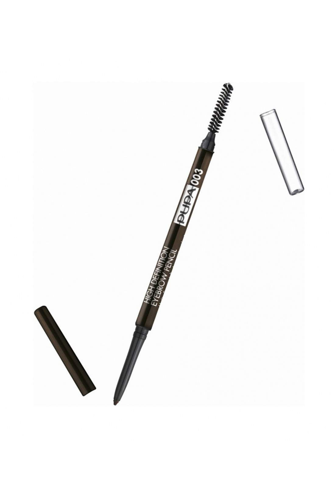 Pupa High Definition Eyebrow No.03 Dark Brown قلم تحديد الحاجب مع فرشاة