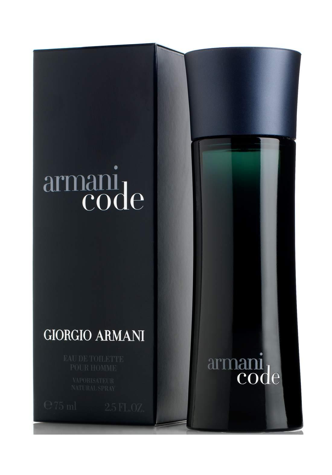 Giorgio Armani Code Eau De Toilette for Men, 125ml عطر رجالي