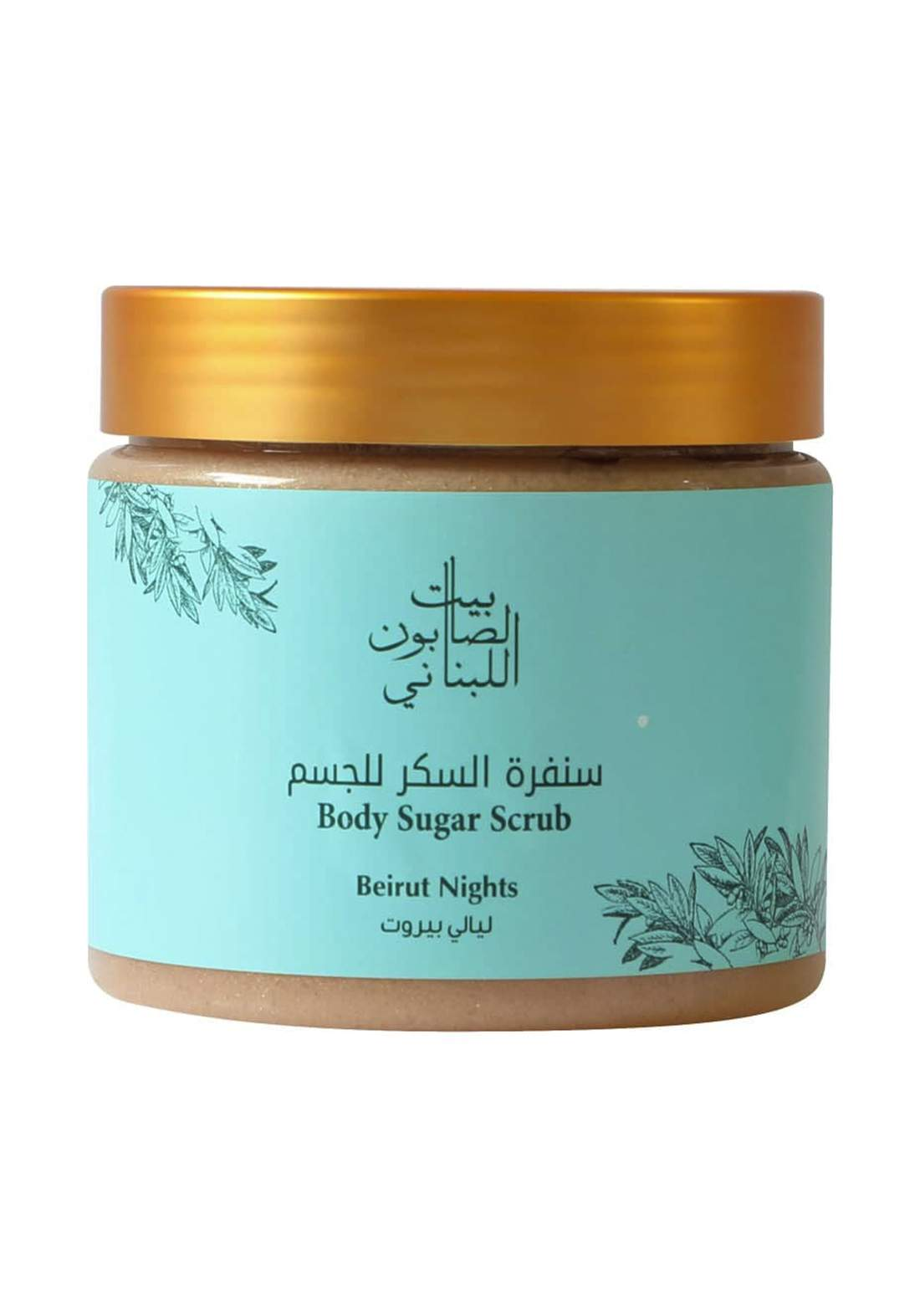 Bayt Alsaboun Alloubnani-317445 Body Sugar Scrub Beirut Night 500 g سنفرة