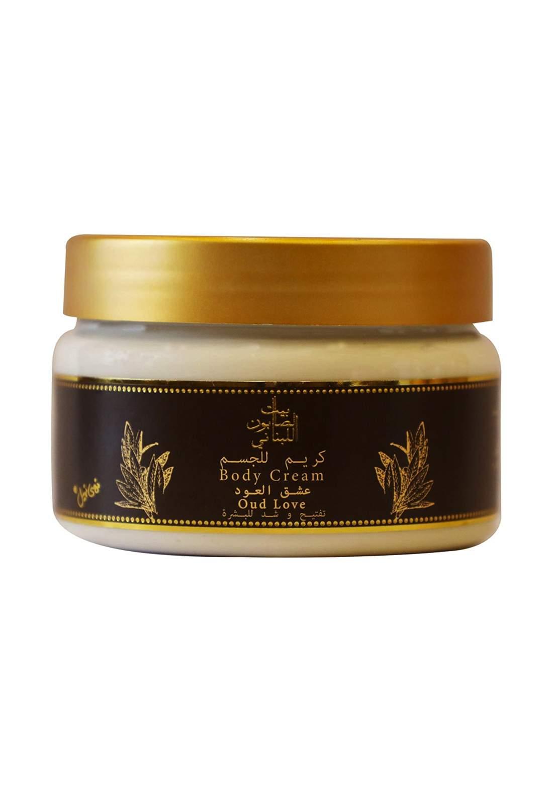 Bayt Alsaboun Alloubnani-317464 Body Cream Oud Love 300g كريم