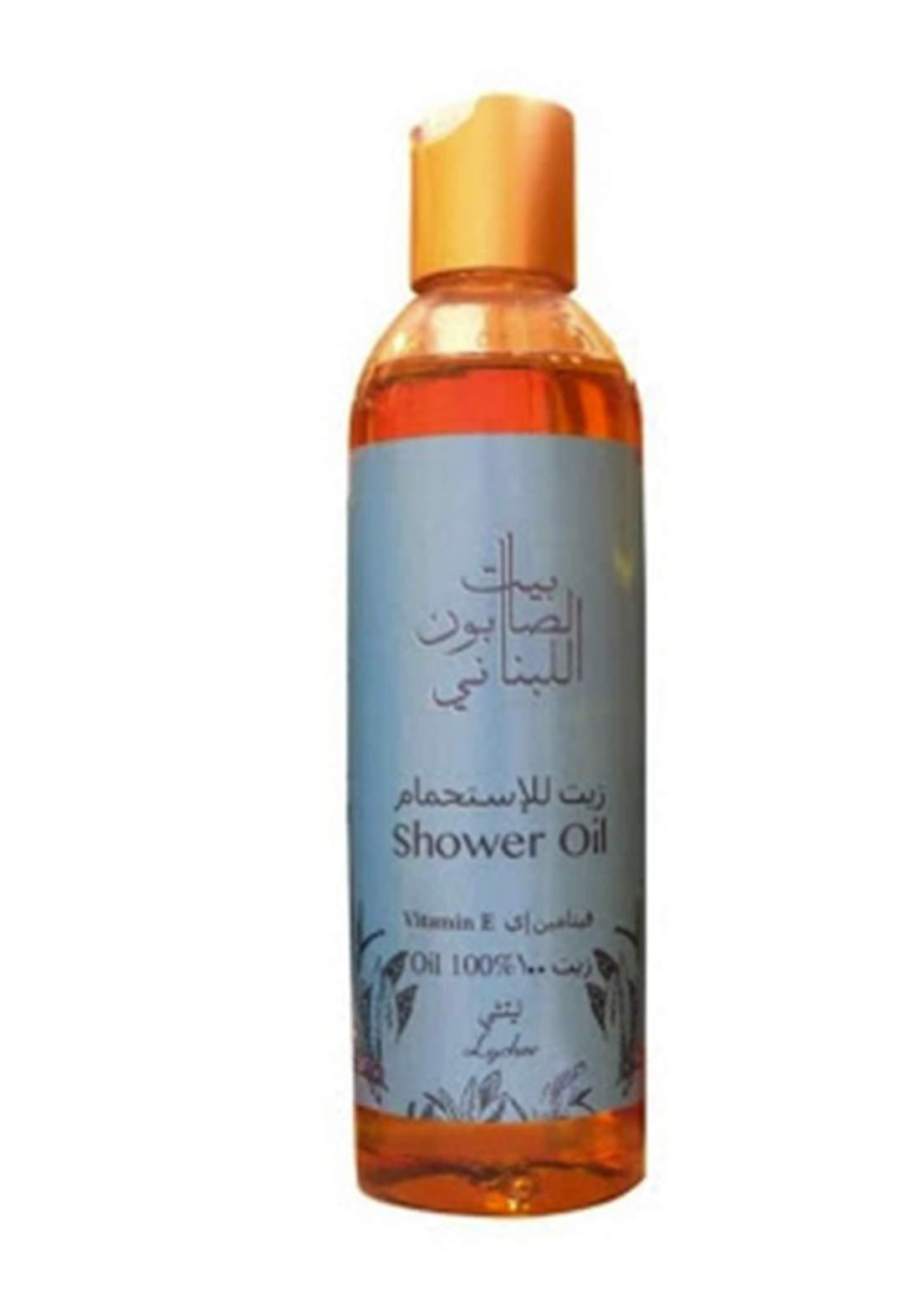 Bayt Alsaboun Alloubnani-317469 Shower Oil Vitamin E Luchee 250ml زيت الاستحمام