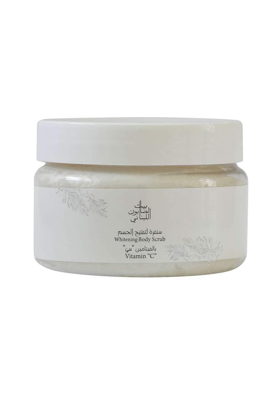 Bayt Alsaboun Alloubnani-317463 Whitening Body Scrub Vitamin C 300g سنفرة