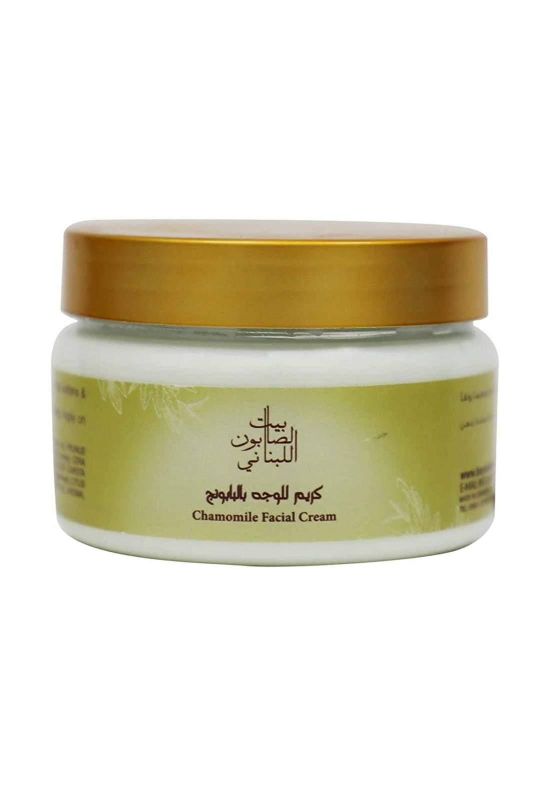 Bayt Alsaboun Alloubnani-317495 Chamomile Facial Cream 150g كريم