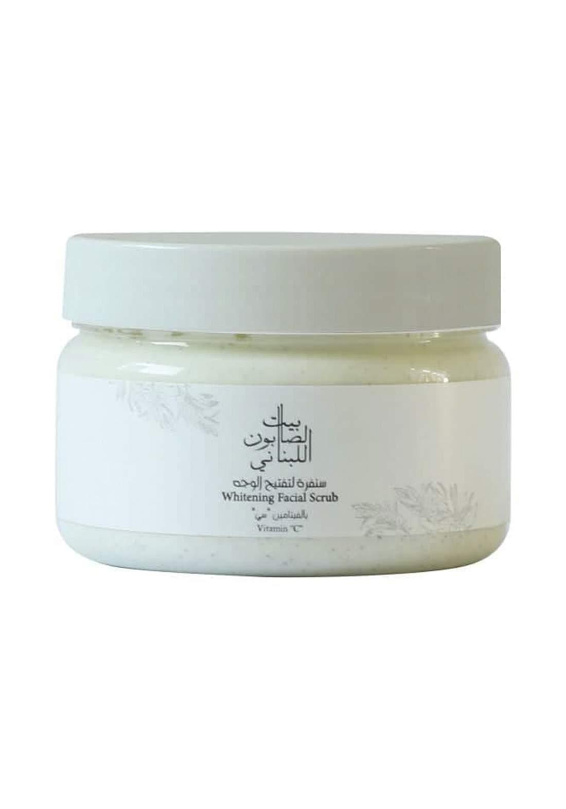 Bayt Alsaboun Alloubnani-317494 Whitening Facial Scrub Vitamin C 150g سنفرة  الوجة
