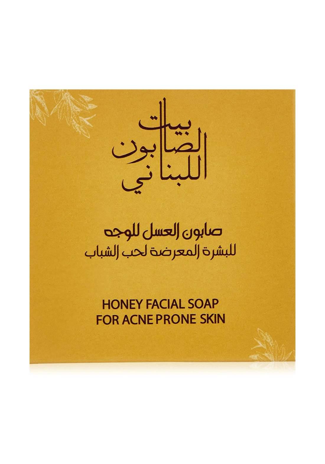 Bayt Alsaboun Alloubnani-317488 Hony Facial Soap 120g صابون