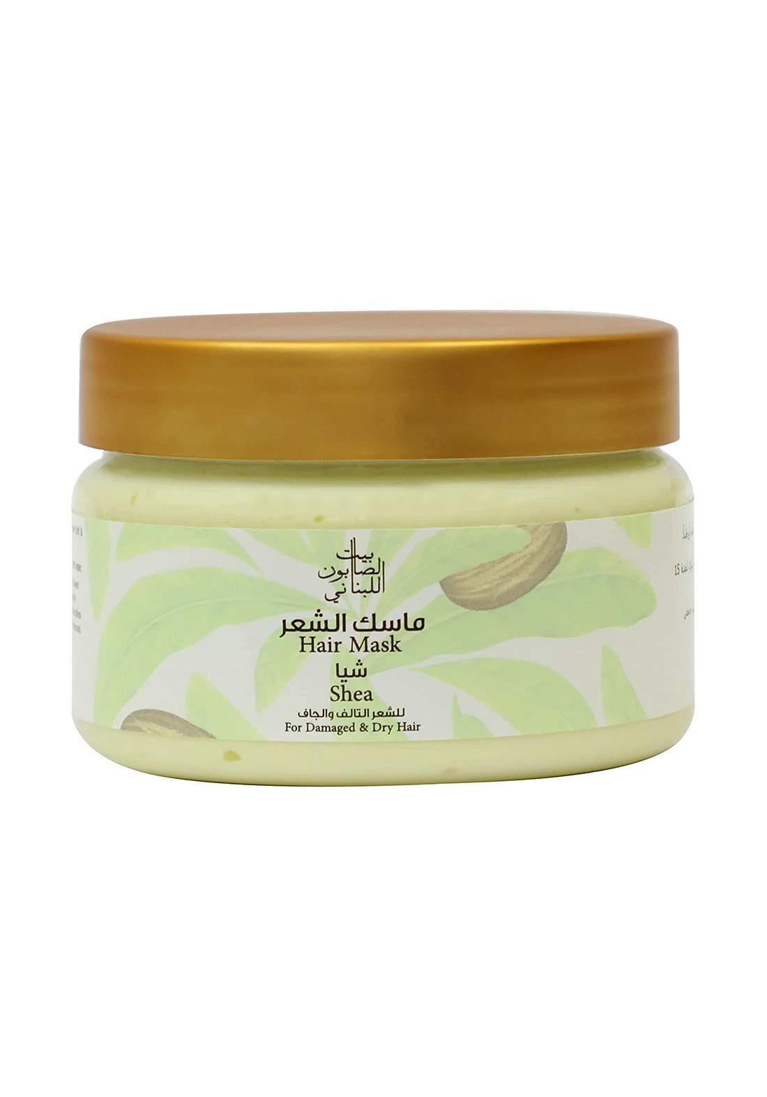 Bayt Alsaboun Alloubnani-317453 Hair Mask Shea 300g ماسك للشعر