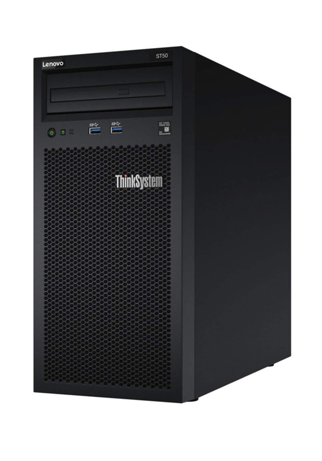 Lenovo Think System ST50 Server (7Y48A02DEA) - Black  كيس حاسبة