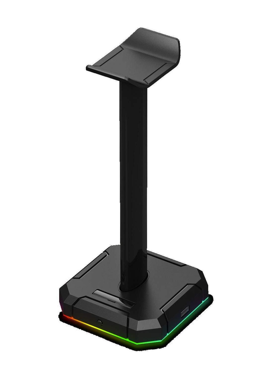 Redragon HA300 Scepter Pro Headset Stand RGB Backlit Gaming Headphone Stand ستاند لسماعات الرأس