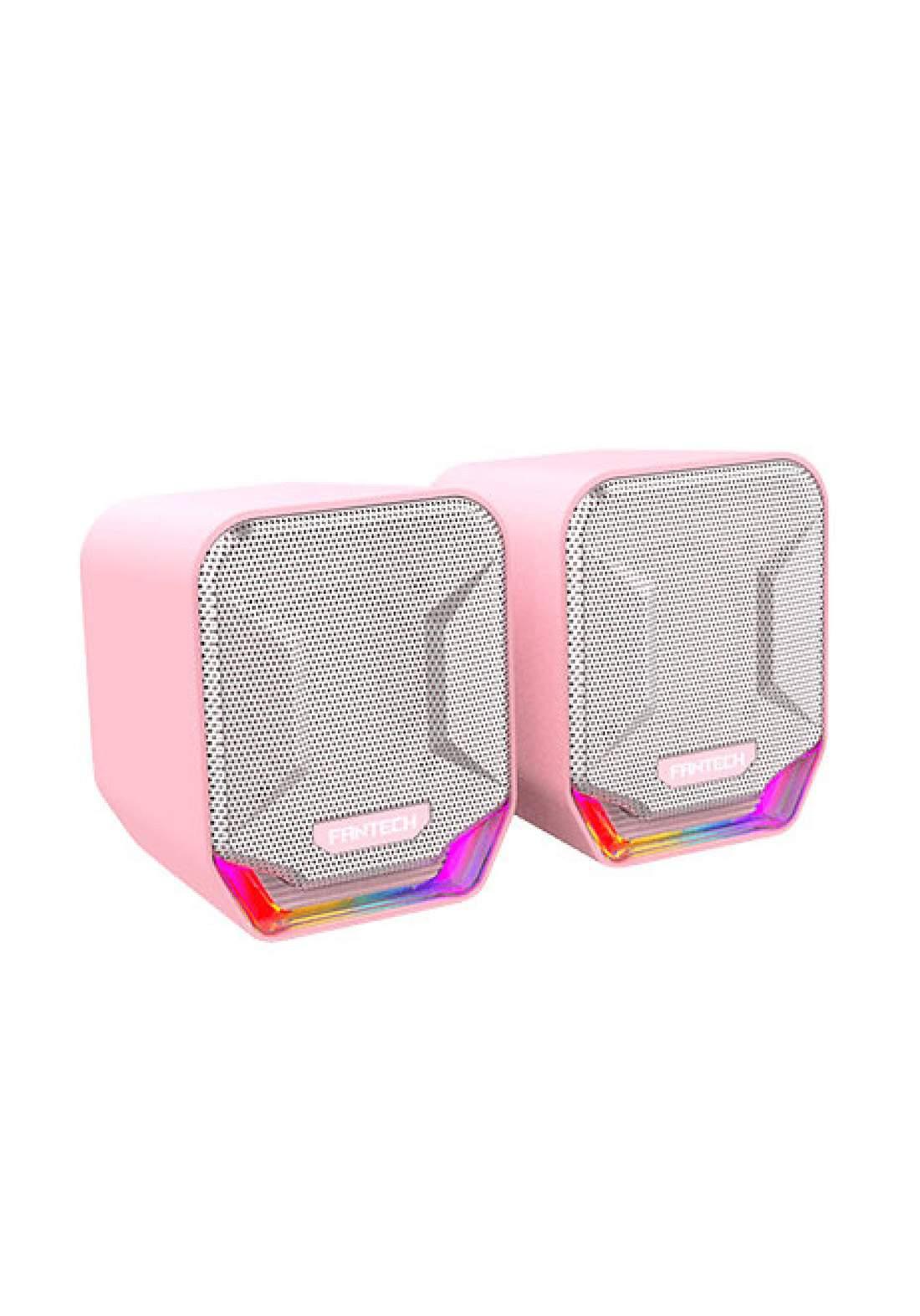 Fantech Sonar Gs202 Sakura LED RGB Edition Speaker - Pink سبيكر