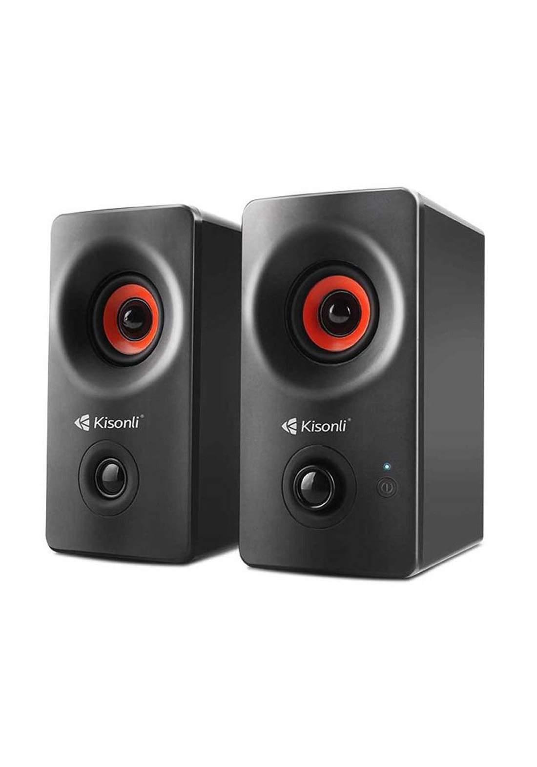 Kisonli AC-9002BT Bluetooth Speaker AC Power- Black  سبيكر