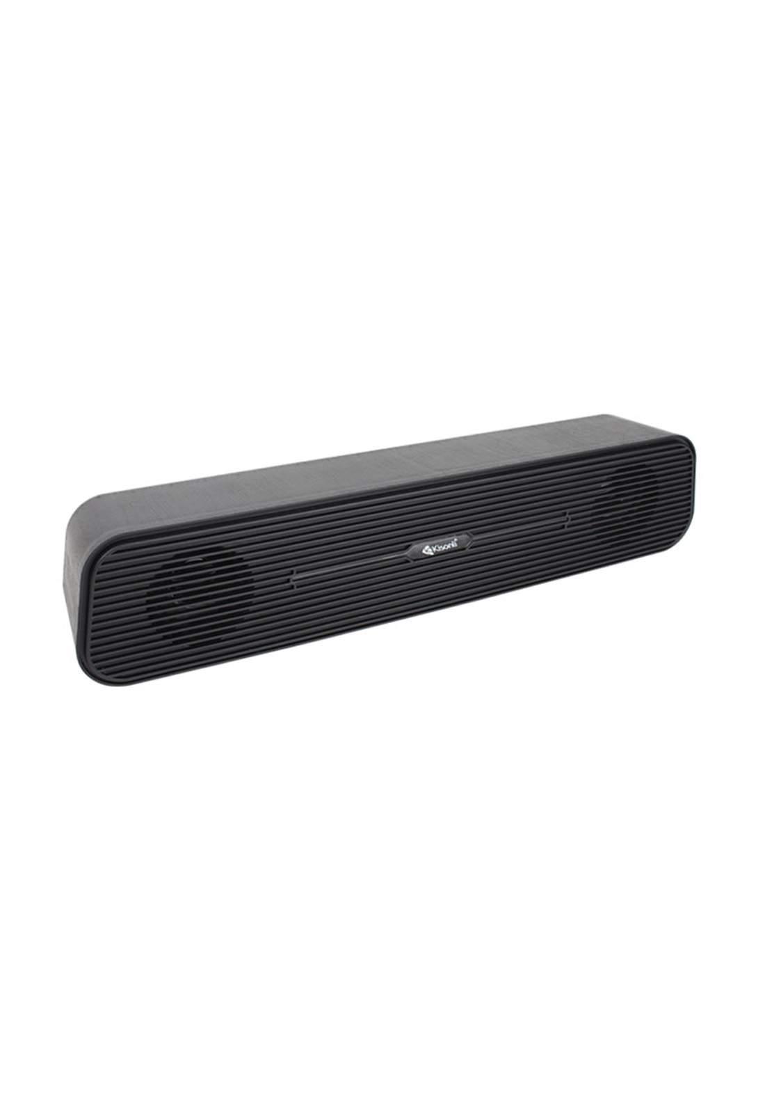Kisonli i-520 mini speaker USB - Black  سبيكر