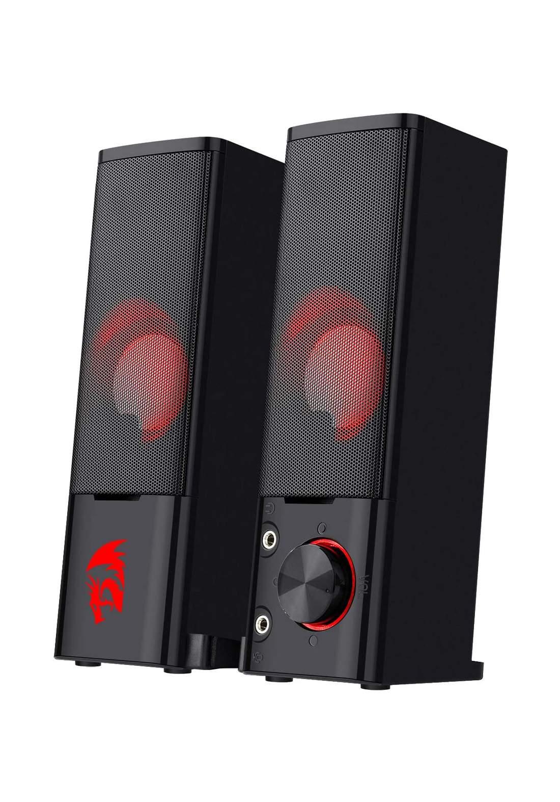 Redragon GS550 Orpheus PC Gaming Speakers - Black سبيكر