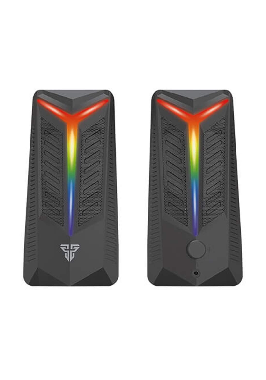 Fantech GS301 Trifecta RGB Gaming Speaker- Black  سبيكر